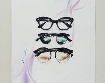 Summer - Sunglasses - Drawing