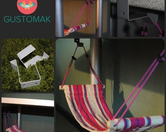 Gustomak - A Hammock for you feet in the office