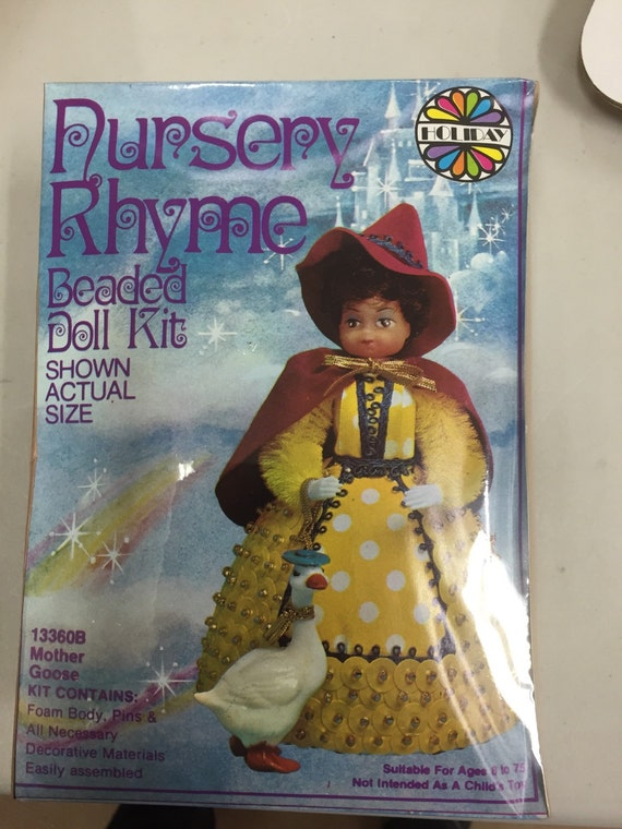 items similar to l il beaded doll kit goose
