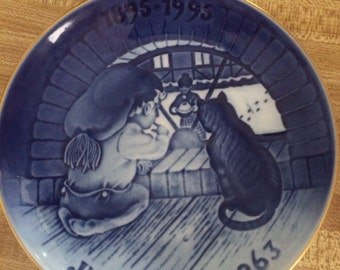 "Bing & Grondahl-Xmas Plates The Centennial Collection  ""Christmas Elf"" Plate 1993"