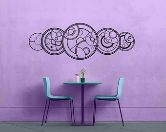 Doctor Who Quote - Gallifreyan - Whovian YOLO - Removable Vinyl Wall Decal Sticker