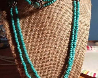 Turquoise Indian Style Necklace