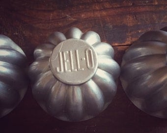 Vintage Jell-O Brand Molds - Set of 4