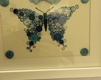 butterfly box frame