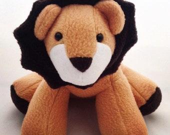 Larry Lion/fleece lion/cuddly toy