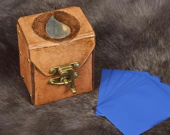 Leather Island Magic Deck Box