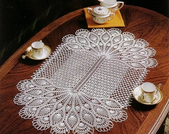 Free shipping - Crochet doily - crochet doilies - large doily - Home decor - White crochet doily - Handmade tablecloth
