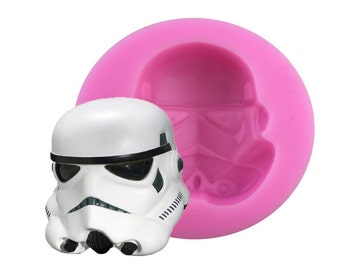 Star Wars 3D Classic Characters  Silicone Mold