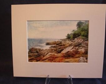 Digital Painting Andaman Sea