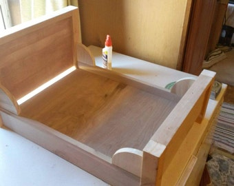 """18"""" Wooden doll bed"""