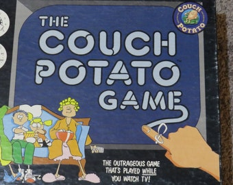 Vintage The Couch Potato Game 1987