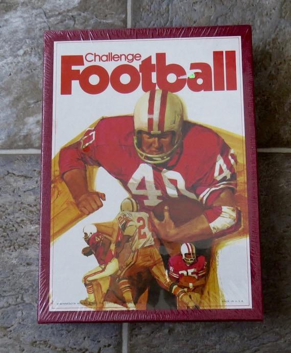 Vintage Challenge Football Board Game 1972 Minnesota Mining