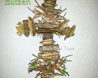 Blitzen Natural Bird Toy