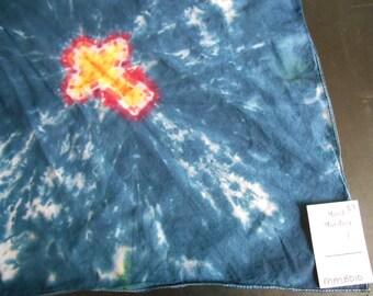 100% cotton Tie Dye Bandana