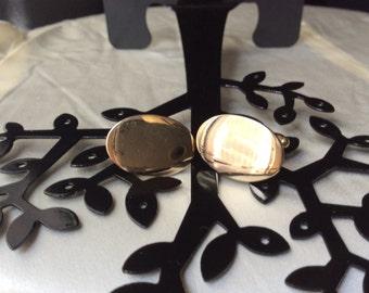 Vintage Anson Gold Oval Cufflinks