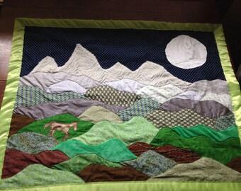 Mountain blankets
