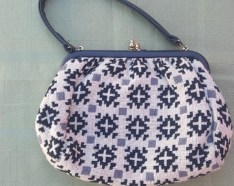 Vintage Welch Tapestry Handbag