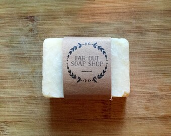 Juniper Berry Soap, Bar Vegan Handmade Natural Hot Process Scented Soap