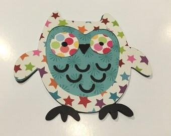 Owl Paper Embellisment
