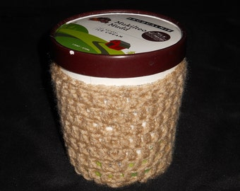Ice Cream Cozy- Beige