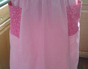 Pretty in pink vintage inspired apron