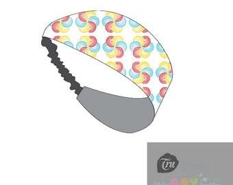 Geometric Swirl Headband