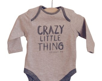 Crazy Little Thing Called Me Baby Romper