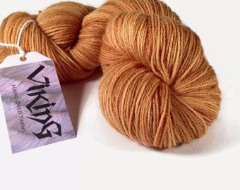 100% British Wool Hand Dyed in 'Dijon'