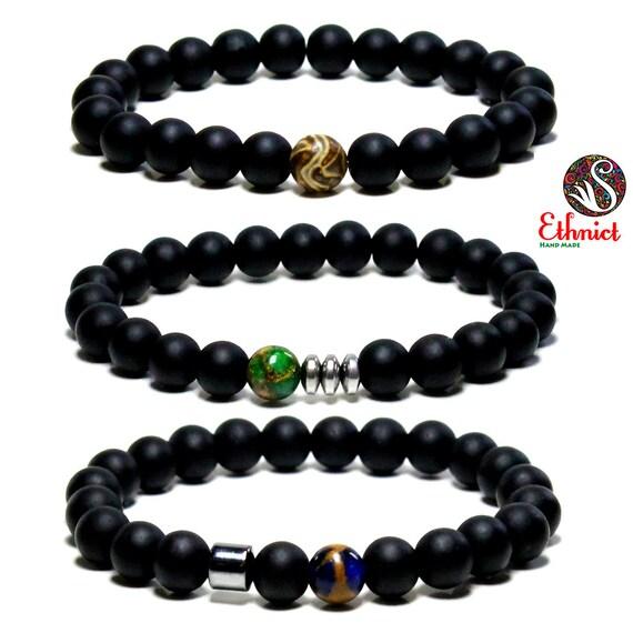 3 pieces bracelet set mens bracelet bracelet set by