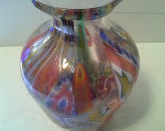 Murano type vase
