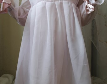 Baby ghost pink dress