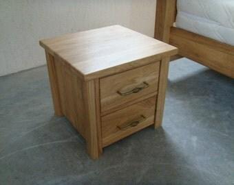 Bedside Solid oak  AMANDA