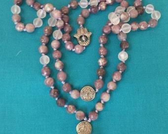 Crown Chakra Mala Necklace
