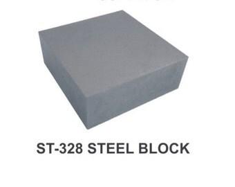"""PARUU® STEEL BLOCK 4 x 4 x 3/4"""" st328"""