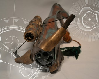 Steampunk/ Cyberpunk/ Cosplay Guardian Nerf Crossbow Gun