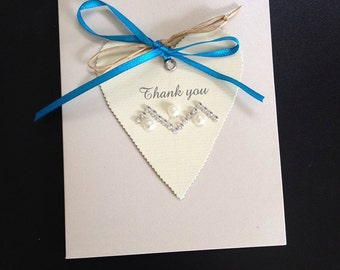 Hand-made Vintage Inspired Heart Card