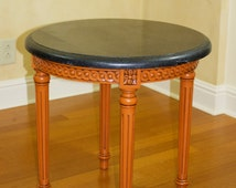 Popular Items For Carved Wood Table On Etsy