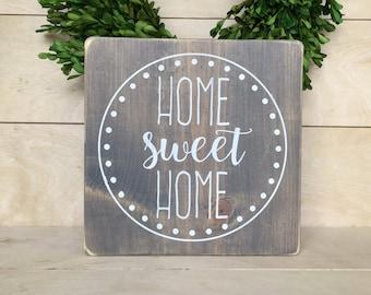 Home Sweet Home; Home Sweet Home Sign; Housewarming present; Housewarming gift; Gallery Wall