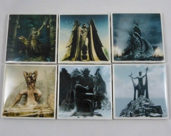 Elder Scrolls Daedric Princes Coaster Set (Skyrim)