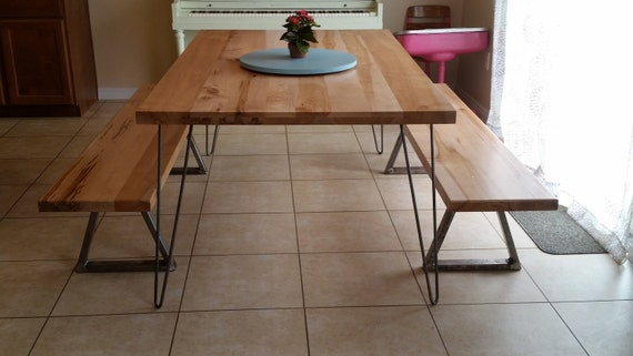 items similar to classic hairpin legs metal table legs