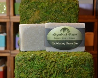 Shave Bar Soap - organic, handmade, all natural, cold process, vegan