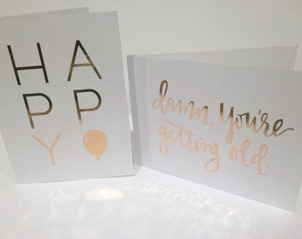 Gold Foil Card Combo!