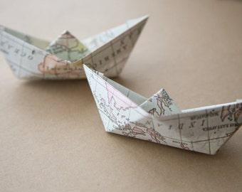 Paper boats, wedding paper boats, paper boats for rice, comfeti, Favor paper boats