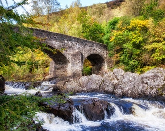 Stone bridge, Glenorchy, Scotland