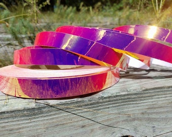 Translucent Pink Sludge Performance Hoop ** Clear Tape Included! **