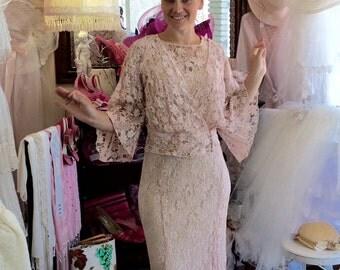 1930 Vintage Lace Dress