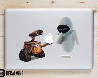 WALL-E Disney MacBook Decal Sticker Removable Vinyl Decal Sticker Disney MacBook Pro Sticker MacBook Air Decal Walle MacBook Decals