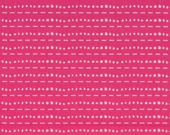 Les Points Rose  - Cherie - 1/4 YARD - Art Gallery Fabric - Cotton Fabric - Quilting Fabric - End of Bolt
