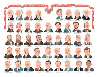 Presidential Poster - SALE