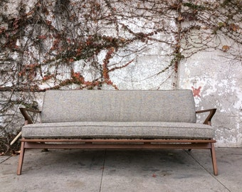 Mid Century Modern Style Z sofa